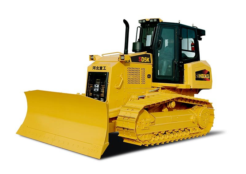 Bulldozer For Port Construction