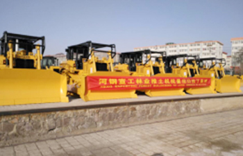 Forestry Bulldozer Batch Export to Latin America
