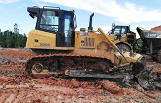 Safety Device of Crawler Dozer